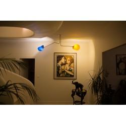 Lampe 2 bras fibre de verre